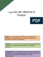Figuras de Retórica e Tropos