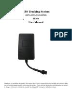 TK06A GPS Tracker User Manual