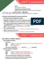 Unit 5 Revision 3ESO