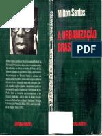 242032114 SANTOS Milton a Urbanizacao Brasileira