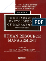 Susan Cartwright - The Blackwell Encyclopedia of Management