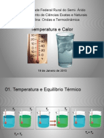 Temperatura e Calor