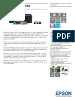 Epson Stylus SX230 Brochures 1