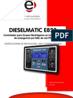 Manual Dieselmatic e822z