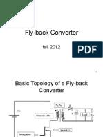 Fly-back Converter 2012