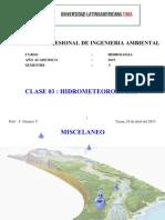 Clase 3 Hidrometeorologia