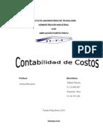 Contabilidad de Costos Rafael Pancho