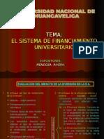 sistema finaciero universitario