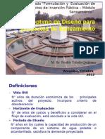 5.0 Periodo Optimo de Diseño Ppt