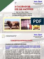 La Calidad de Carne de Vacuno