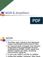 4.WDM, Amplifiers
