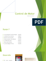 Control de Motor