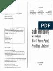 Sub Windows Sa Invatam Word,Powerpoint,Frontpage Si Internet[RO][Ed. SEDCOM LIBRIS - 2004]