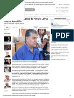 05-05-15 Declaraciones cobardes de Álvaro Leyva contra Astudillo