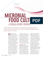 Leitura Complementar - Microbial Food Cultures