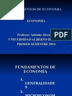 UI. Fundamentos Economia UAH 2014