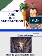 Motivation- Job Satisfaction