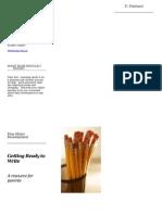 fine motor development parent brochure