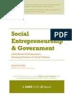 """""""The Best Summary/Taxonomy/Description of Social Entrepreneurship I've"""