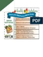 Jefferson County Farmers Market Guide 2015