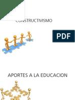Paradigma Constructivista Aportes y Papel Del Maestro