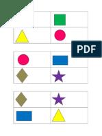 Bingo de Formas Geométricas