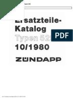 Zundapp 529 Parts List Www.manualedereparatie.info
