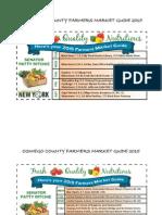 Senator Patty Ritchie 2015 Farmers Market Guides