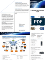 i0b SkySweep IP Data Radio SkyIPR Flyer En