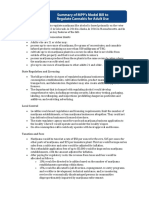 Model Tax and Regulate Bill Summary