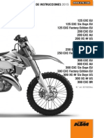 Manual de Usuario KTM EXC 125 2015