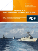 Balancing Acts - The US Rebalance and Asia Pacific Stability