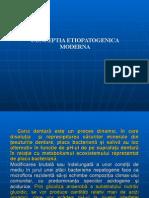 Conceptia Etiopatogenica Moderna- Ctd