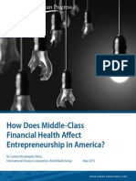 How Does Middle-Class Financial Health Affect Entrepreneurship in America?