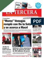 Diario La Tercera 08.05.2015
