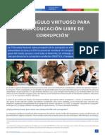 El Triangulo Virtuoso Para La Educacion Libre de Corrupcion 1