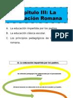 Aportes Pedagógicas-Educación Romana-