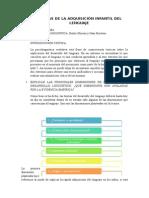 Adquisisción del lenguaje.doc