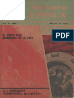 Revista Internacional - Nuestra Epoca N°4 - abril 1966 - Edición Chilena