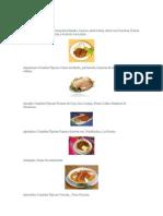 Departamentos Del Peru y Sus Platos Tipicos