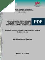 Marco Regulatorio de La Remediacion de SC