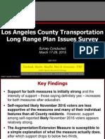 Metro General Survey Results Presentation