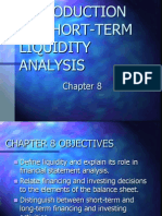 Introduction to Short-term Liquidity Analysis