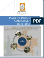 Plan Desarrollo Corporativo2010-2017 USB 2010