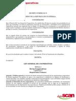 82-78 Ley de Cooperativas