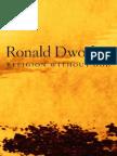 Ronald Dworkin - Religion Without God (2013)