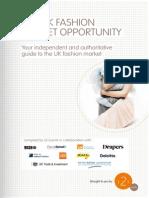 UK Fashion Market Report