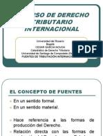 Fuentes de Tributación Internacional - García Novoa