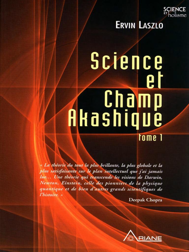 pdf Et Akashique 1 Laszlo Champ Science Tome Ervin BxrodCe