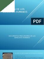 Evolución de Los Derechos Humanos, Estado de derecho y Regímenes de Exposición.